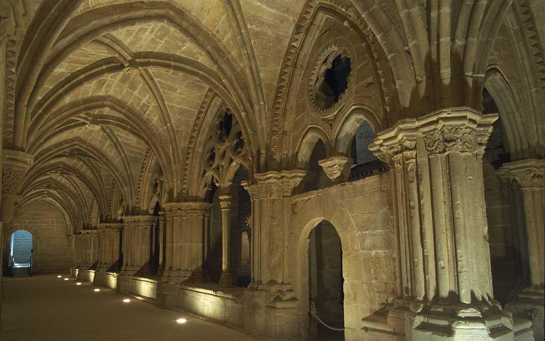 Una de las partes patrimoniales de Rueda que se pueden visitar a través de Turismo de Aragón
