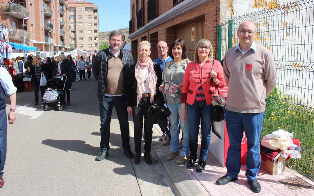 Miembros de las candidaturas del PSOE al Congreso y al Senado junto con la candidatura local
