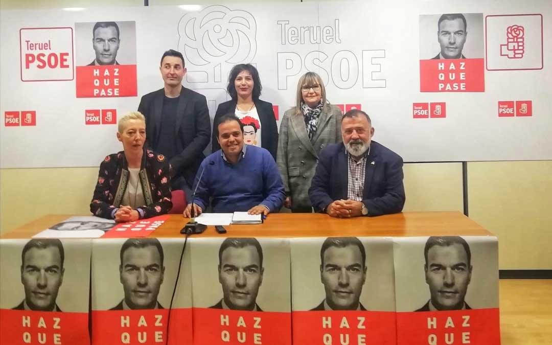 El PSOE ha presentado en Teruel su campaña