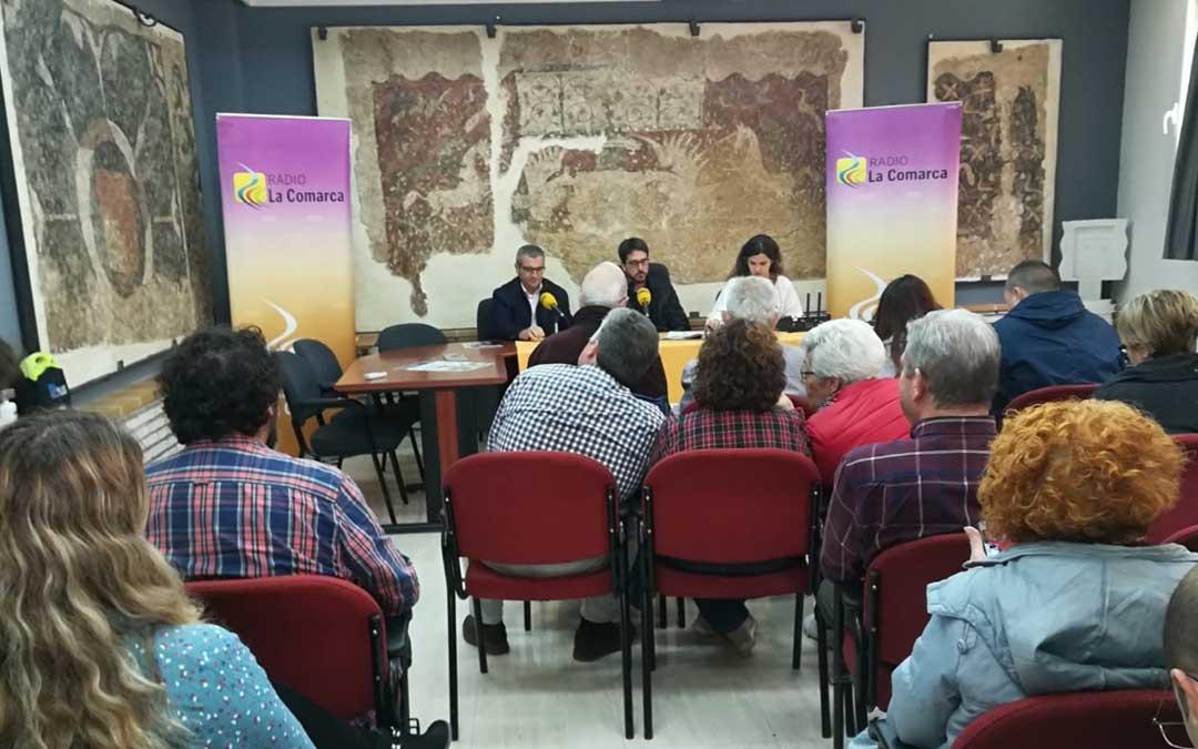 Programa especial emitido desde La Puebla de Híjar en el que hablamos de su Semana Santa.