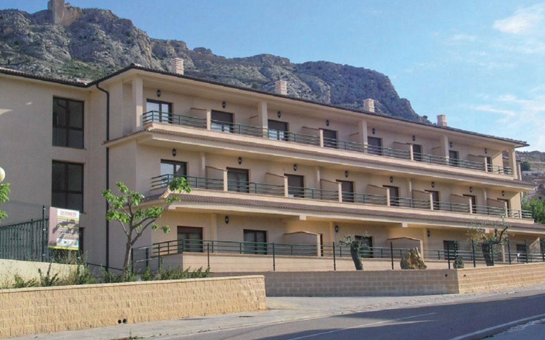 Las obras de ampliación modificarán la planta baja de la actual residencia de mayores de Castellote.