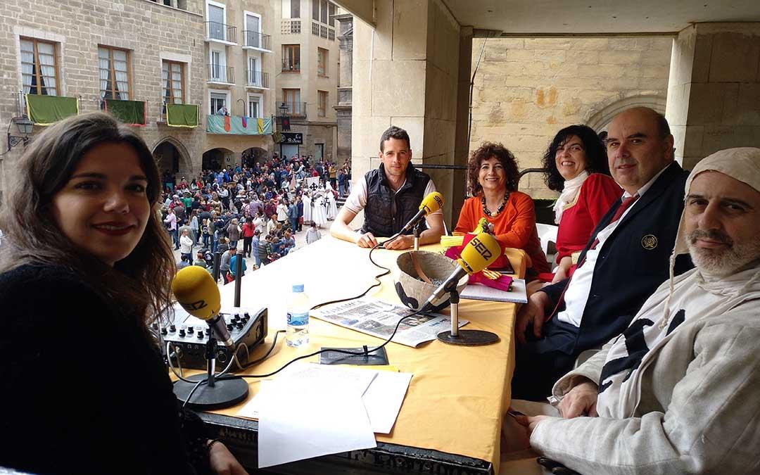 Hoy es tu día especial San Jorge en Alcañiz.