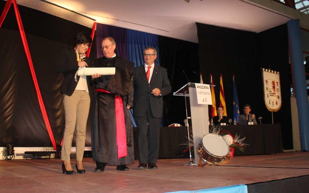 José Monzón, Tambor Noble de la Ruta. Foto: L. Castel