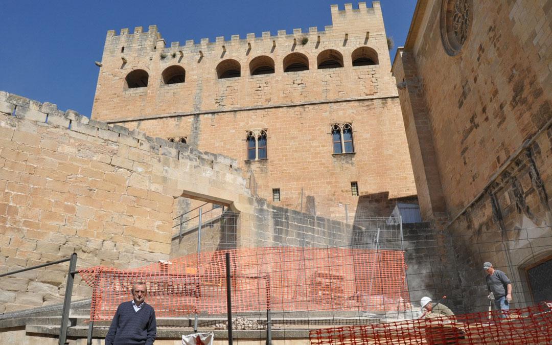 obras castillo Valderrobres