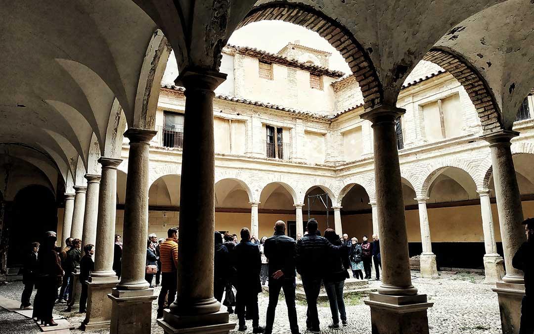 Una de las visitas en Franciscanos.
