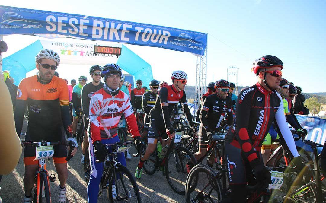 Últimas plazas para pedalear en la Sesé Bike Tour con Alberto Contador