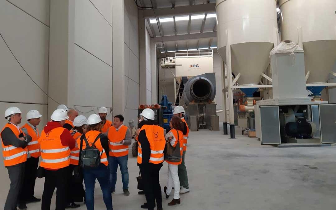 Interior de las instalaciones de la primera fase de Toro Gips, donde desarrollará la línea comercial Terra Alba