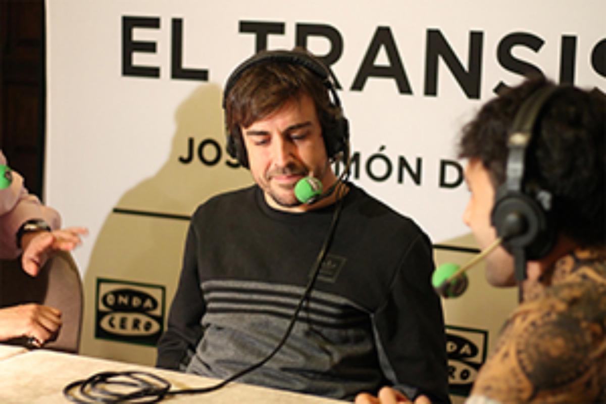 Entrevista Fernando Alonso en Parador de Alcañiz