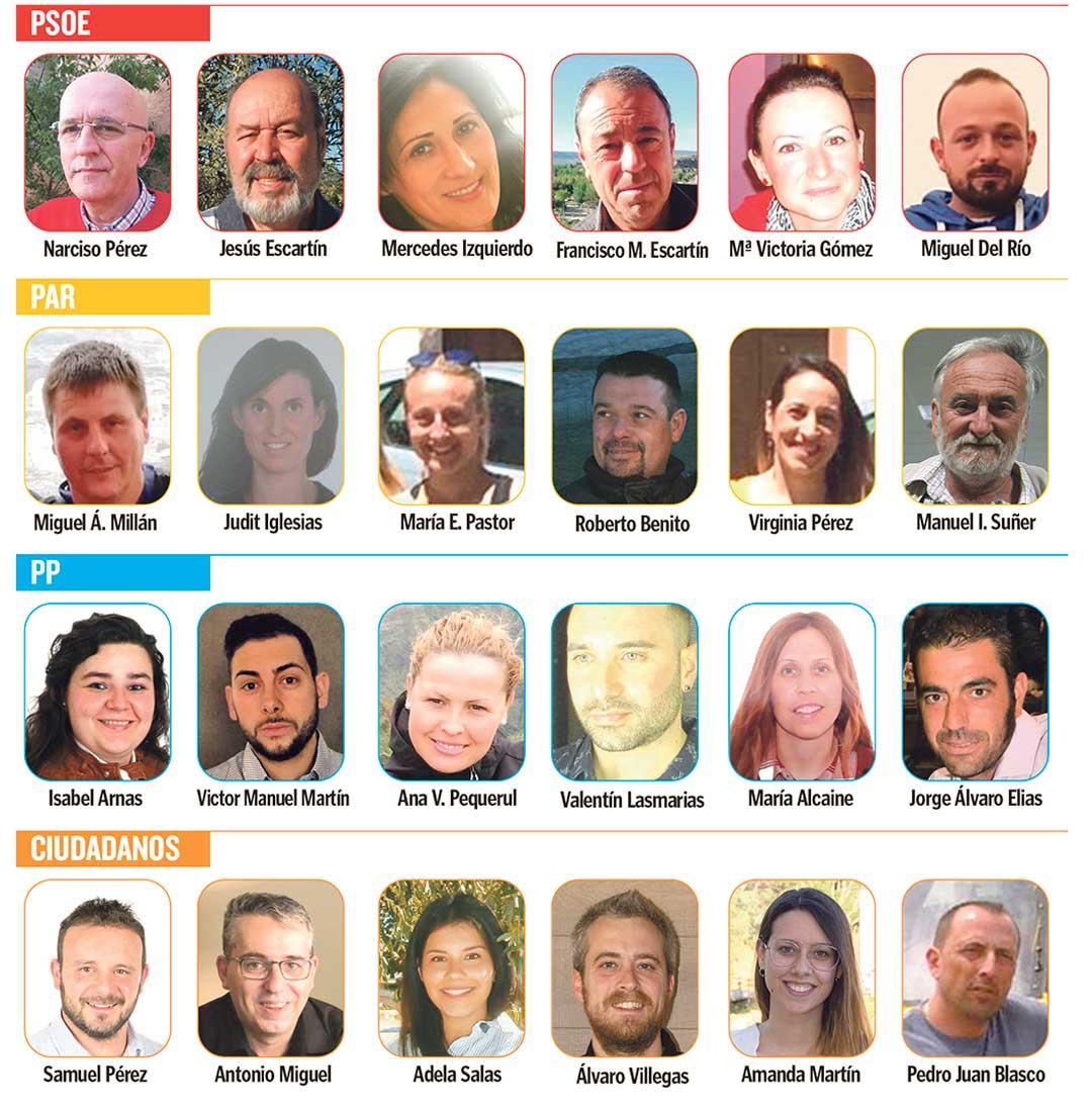 candidatos elecciones albalate