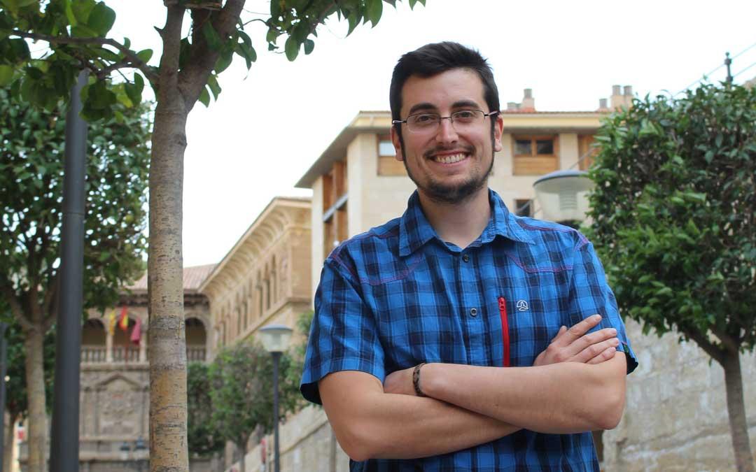 El alcorisano Daniel Palomo es el coordinador de IU Teruel