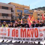 cabecera manifestacion andorra 1 de mayo