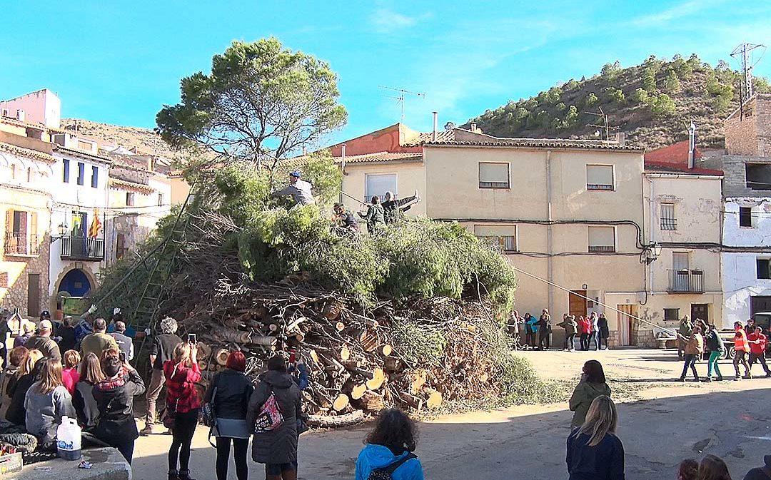 Castelnou prepara la 'Copa', la hoguera y tradición por su patrón