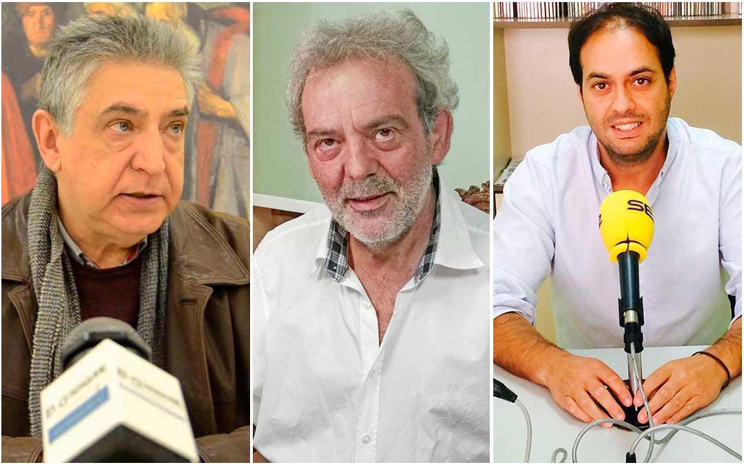 Los tres implicados: Antonio Tudó, Francisco Domenech y Alfredo Maranillo.