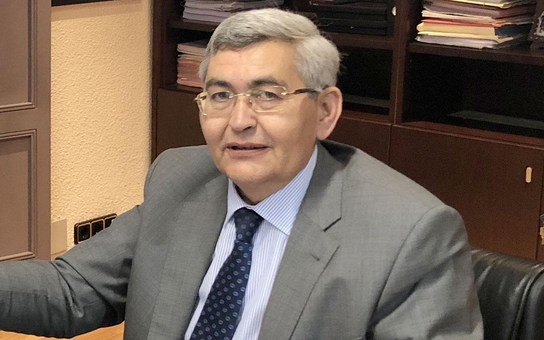 José Antonio Pérez Cebrián deja la presidencia de CEOE-Teruel./ L.C.