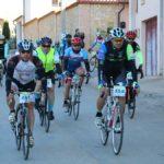 ciclistas en la sese bike tour