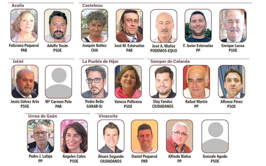 comarca bajo martin elecciones