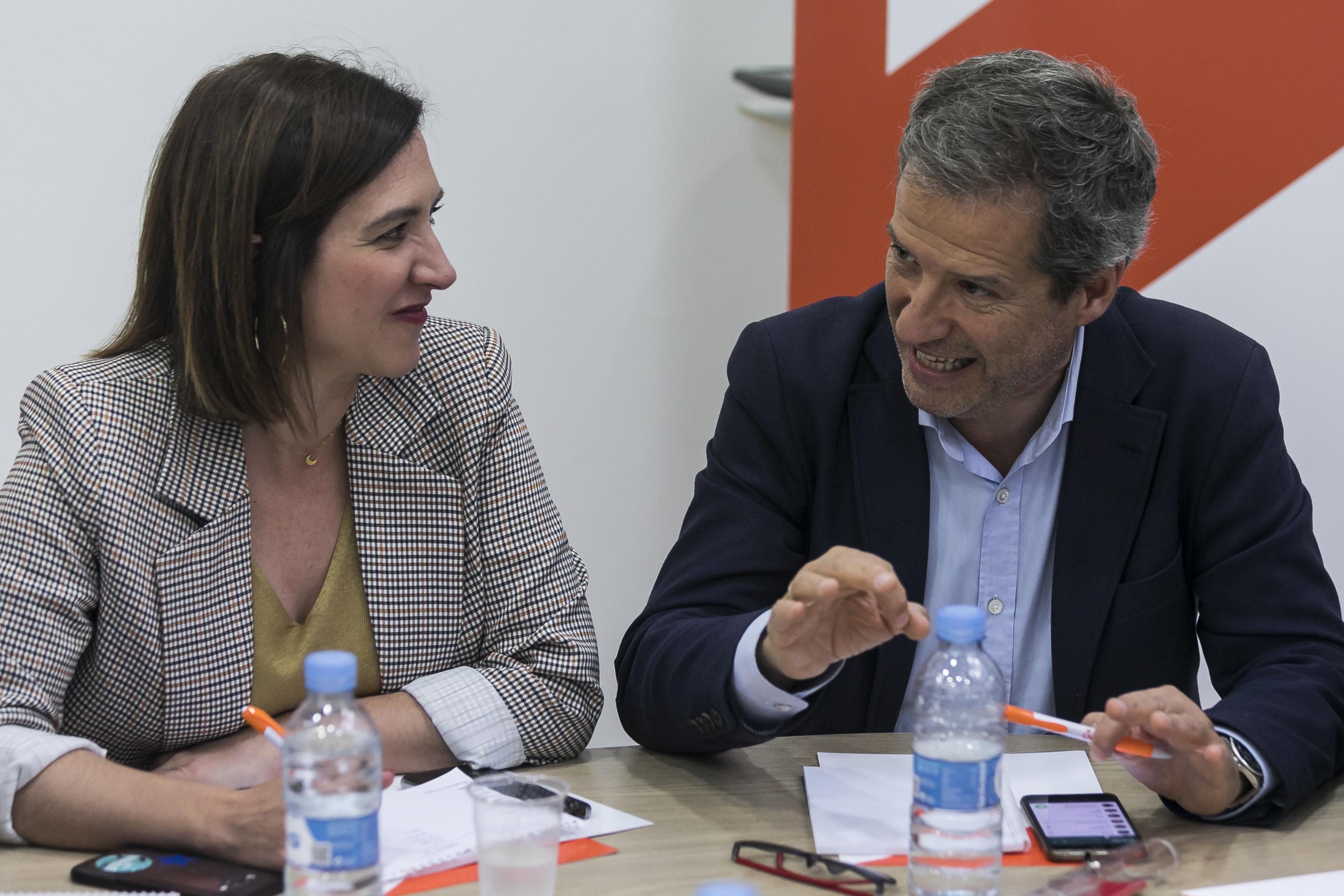 Rueda de prensa de Ciudadanos tras las elecciones autonómicas