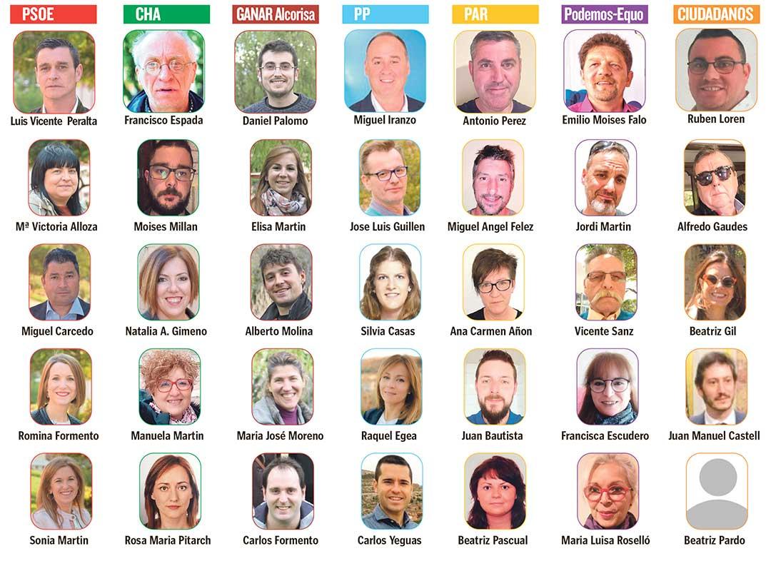 elecciones candidatos alcorisa