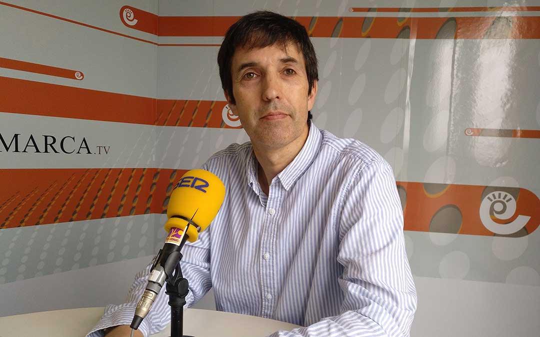 Javier Pérez, director académico del Colegio de la Inmaculada en Alcañiz.
