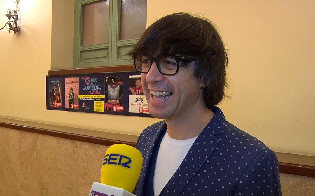Entrevista a Luis Piedrahita en Alcañiz