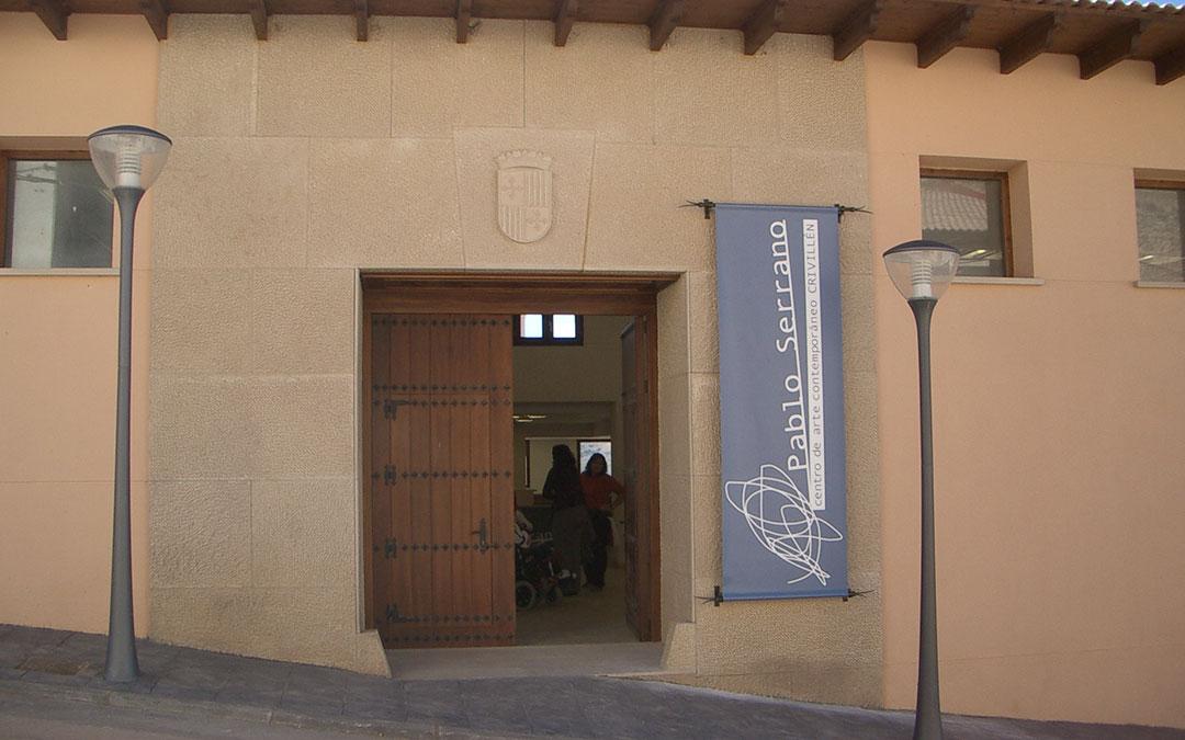 Fachada el museo Pablo Serrano de Crivillén