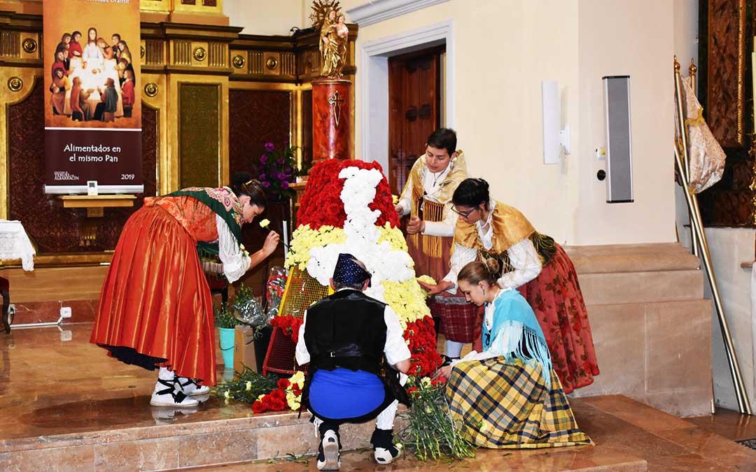 El Grupo de Jota de Alcorisa ha participado de forma muy activa en muchos actos.