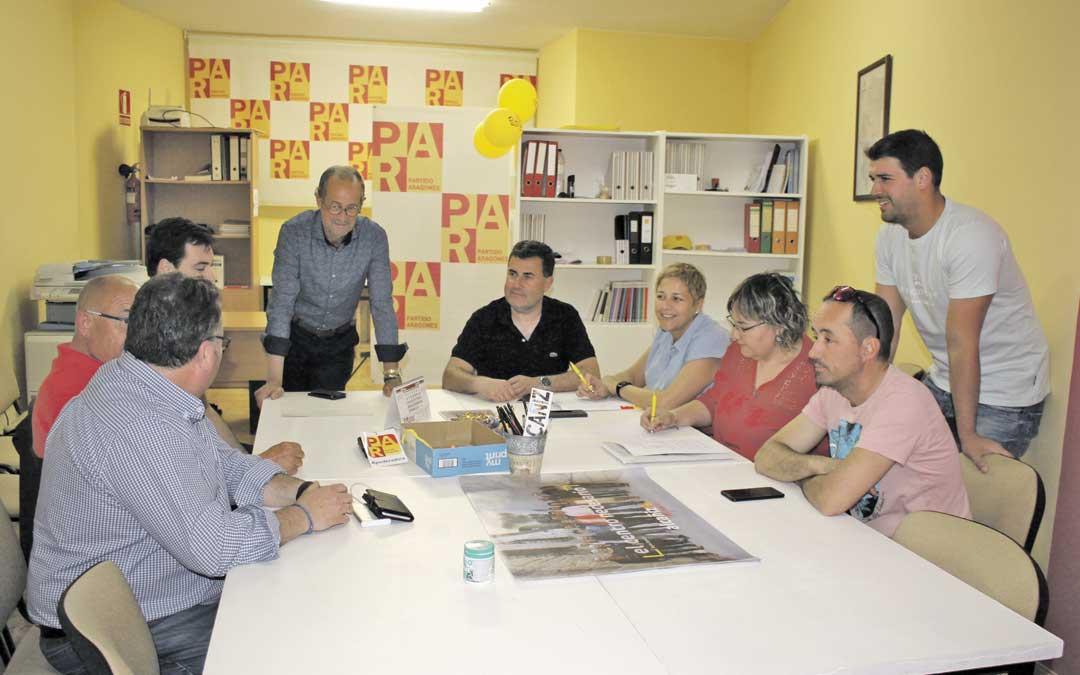 Reunión del Comité Local del PAR este jueves para valorar sus opciones. Foto: L. Castel