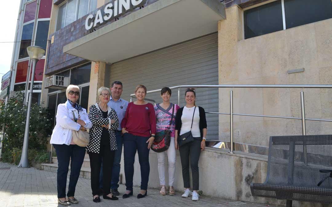 El PAR asegura que el Casino de Alcañiz solo puede tener un fin social y no utilizarse para oficinas