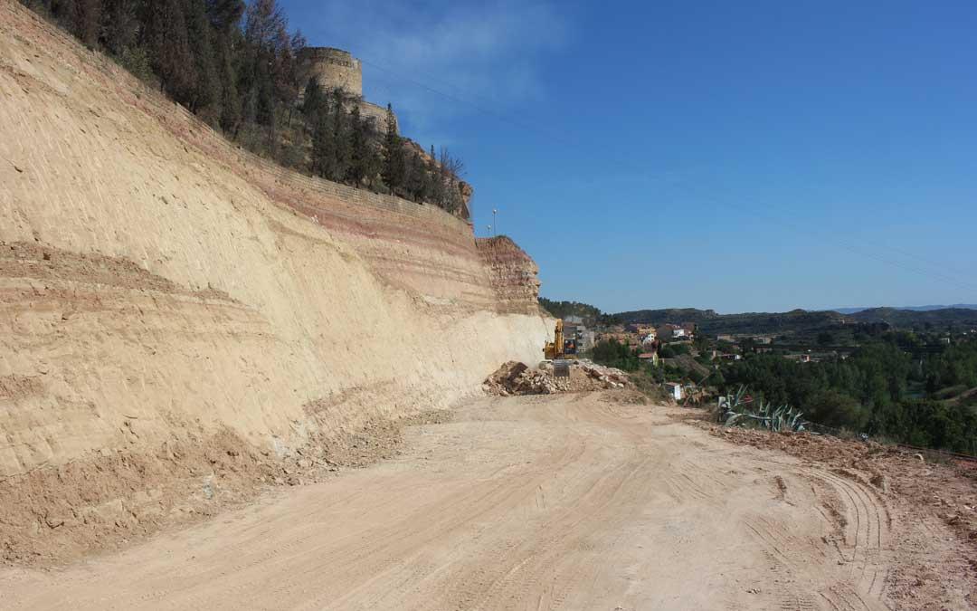 Imagen de archivo de las obras del cerro Pui Pinos