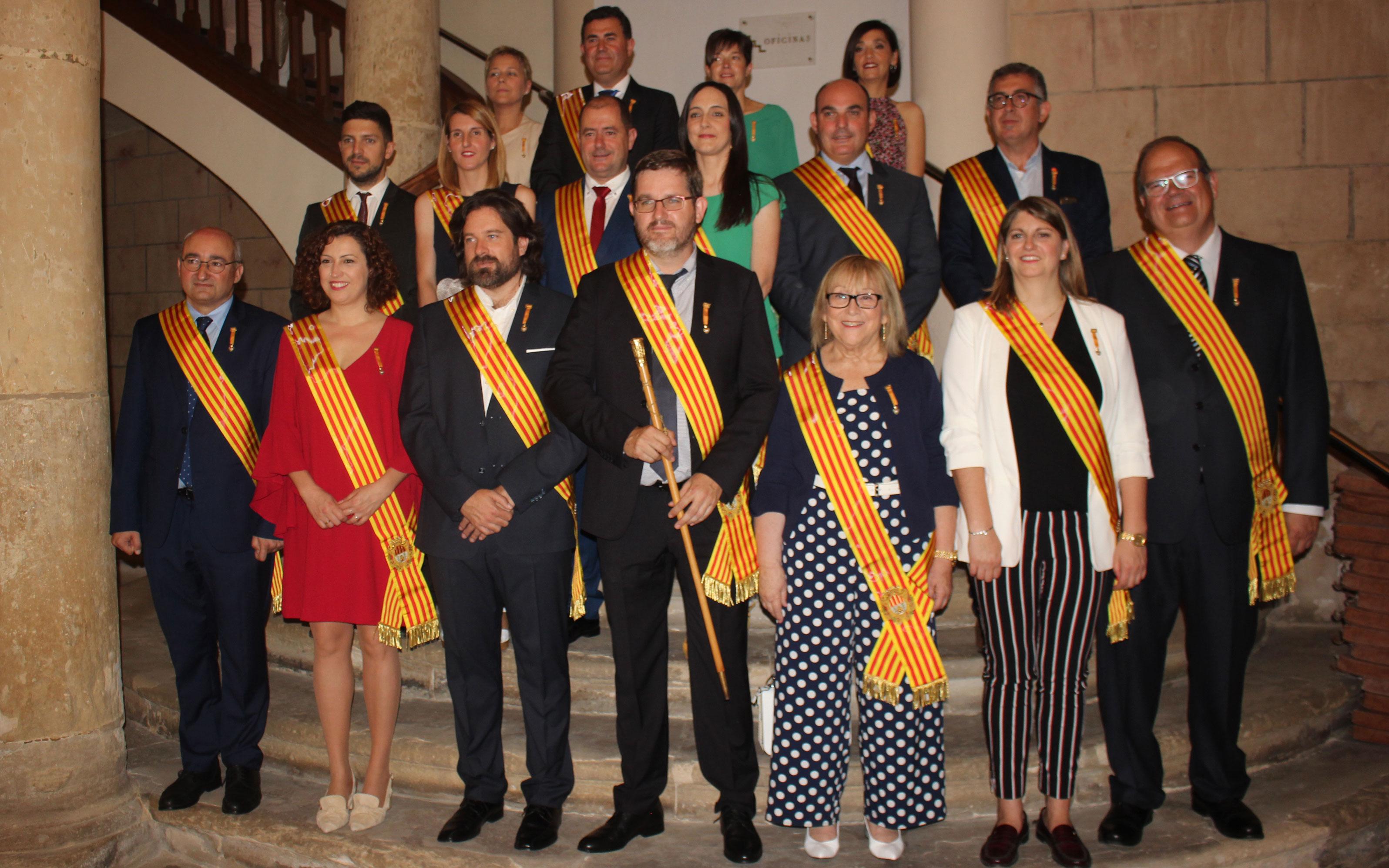 Nueva corporación municipal de Alcañiz
