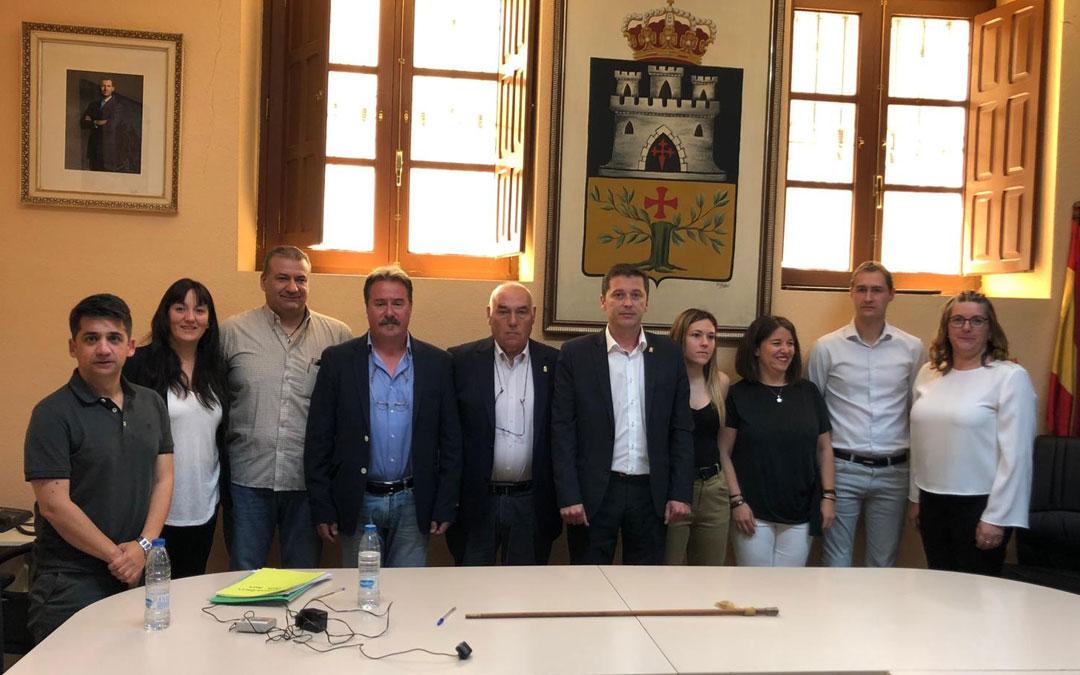 Los nuevos concejales de Montalbán han prometido su cargo en el pleno de investidura de este sábado.