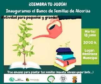 Inauguración banco semillas en Alcorisa