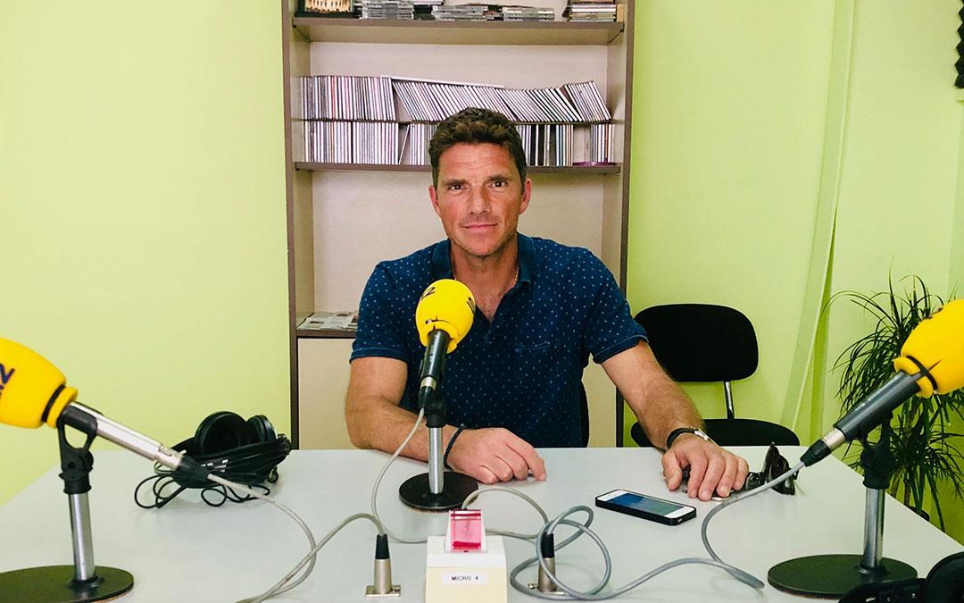 Carlos Burillo, entrenador del Caspe.