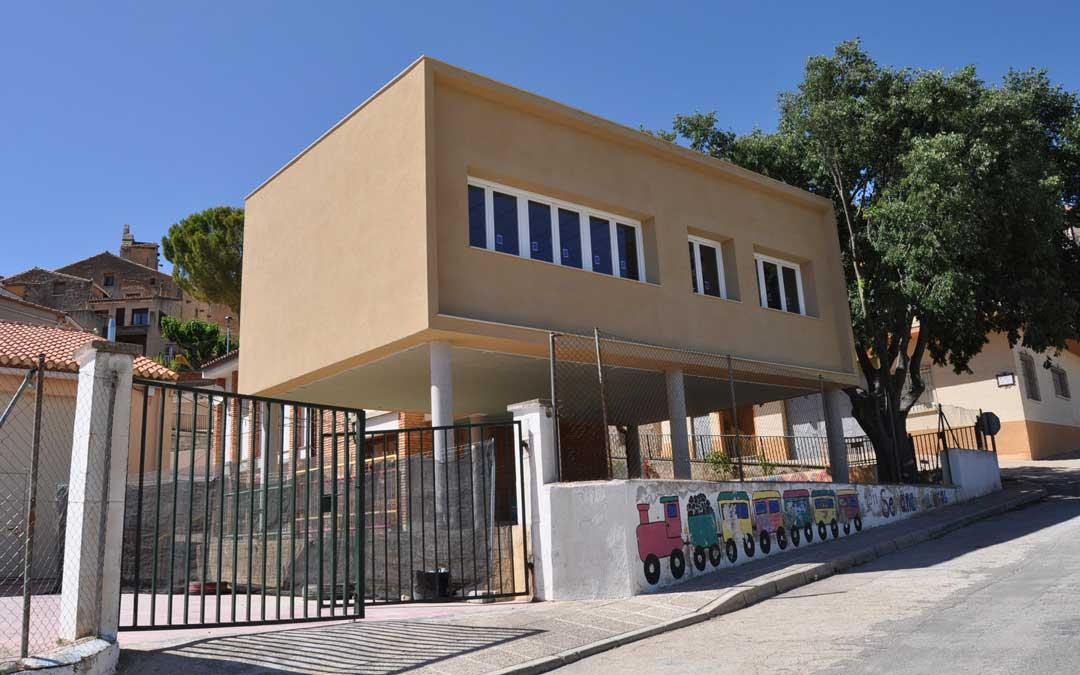 Colegio de Lledó./ Javier de Luna