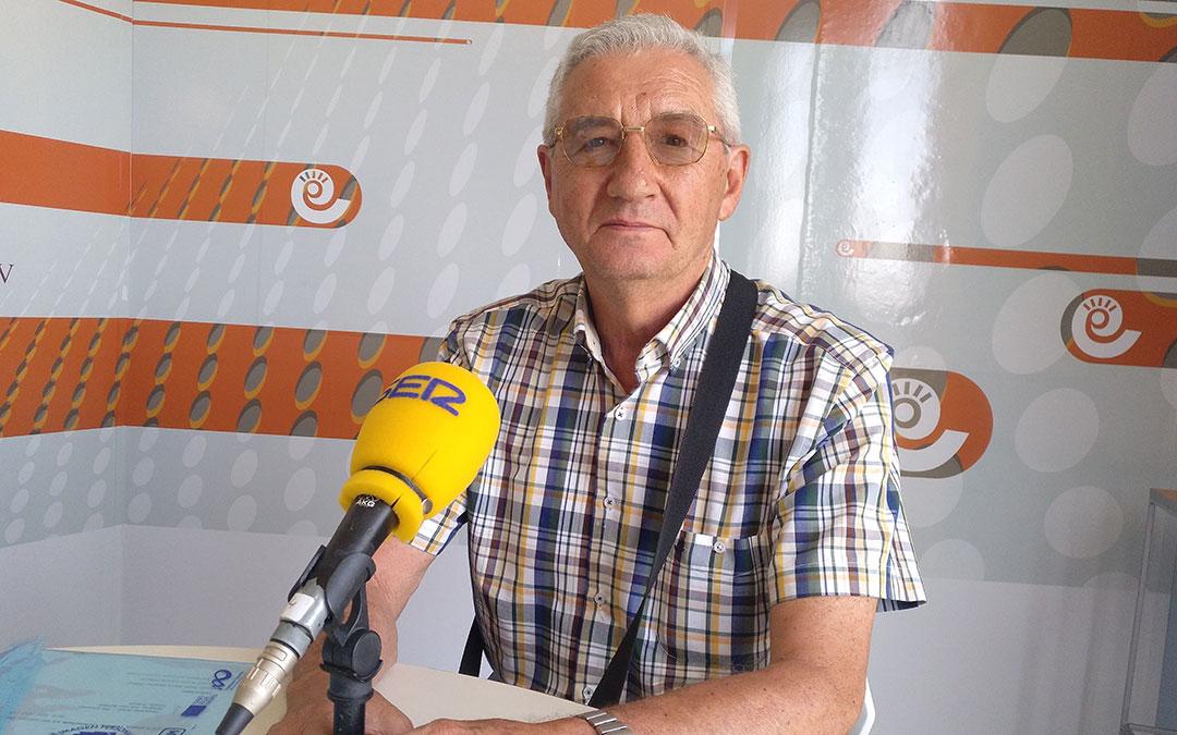 Fernando Navarro, de la Fundación Quílez Listerri.