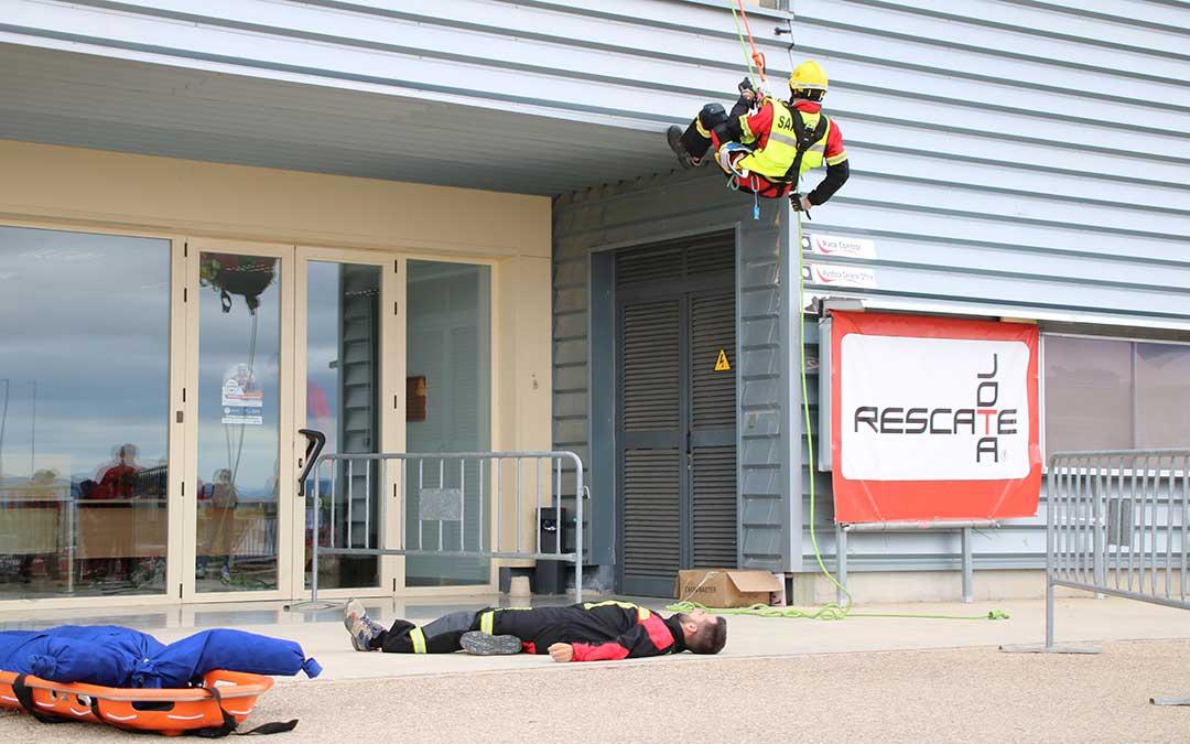 foro subitis motorland emergencias bomberos rescate con cuerdas