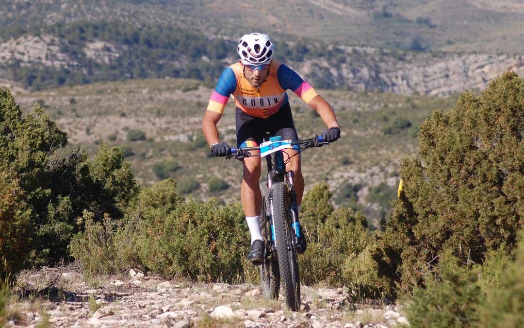 Pau Marzà logró la victoria en la categoría reina de la BTT Masadas de Ejulve celebrada este sábado.