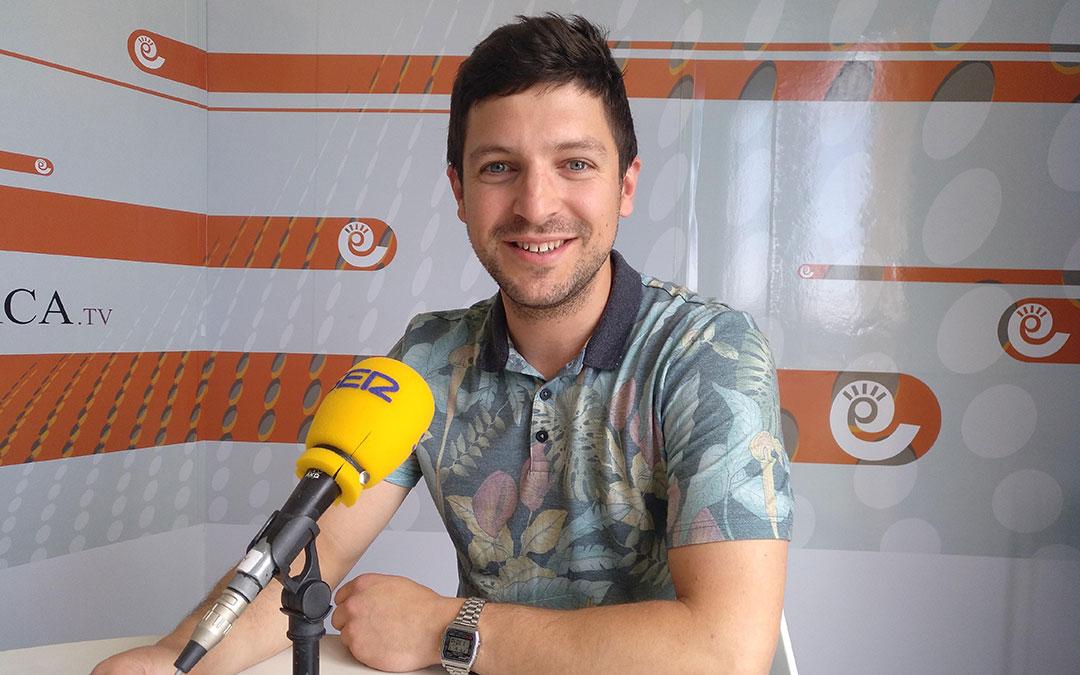 Nacho Carbó, concejal de Festejos en Hoy es tu día.