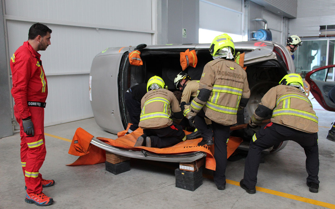 rescate bomberos aprat accidentes de trafico