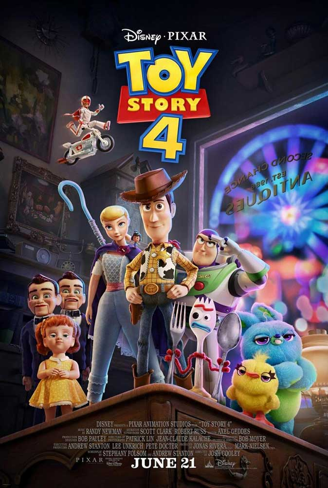 "Cartelera Alcorisa ""Toy Story 4"""