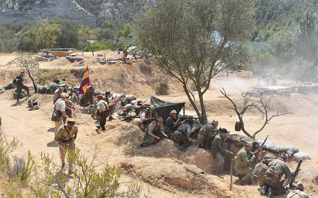 Fayón suspende la recreación de la Batalla del Ebro por primera vez en su historia