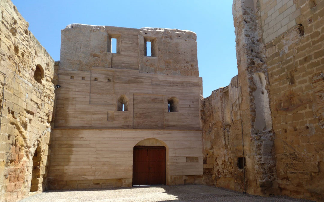 Aspecto que luce el muro una vez concluida la restauración. / Alicia Martín