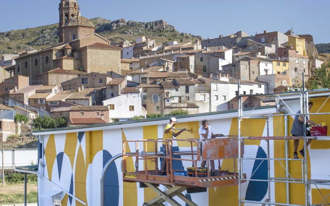 La Almazara de Apadrina un Olivo se convierte en un icono a favor de la España vaciada