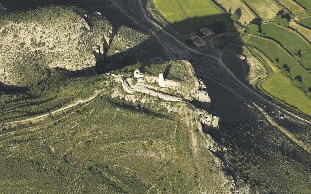 Poblado ibérico Cabezo de San Pedro. // Archivo fotográfico del Consorcio Íberos en el Bajo Aragón.