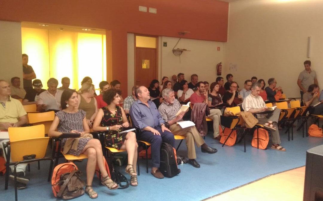 Público y participantes al curso de la Fundación Mindán Manero y la Universidad de Verano de Teruel. / Fundación