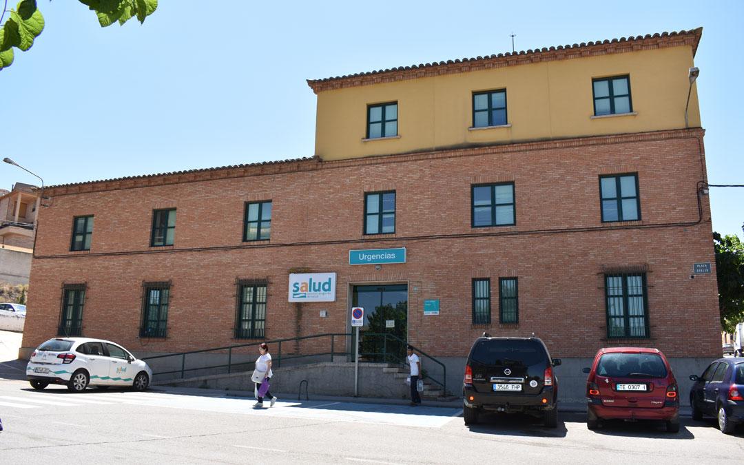 El Centro de Salud de Caspe durante una sus jornadas. // Laura Quilez
