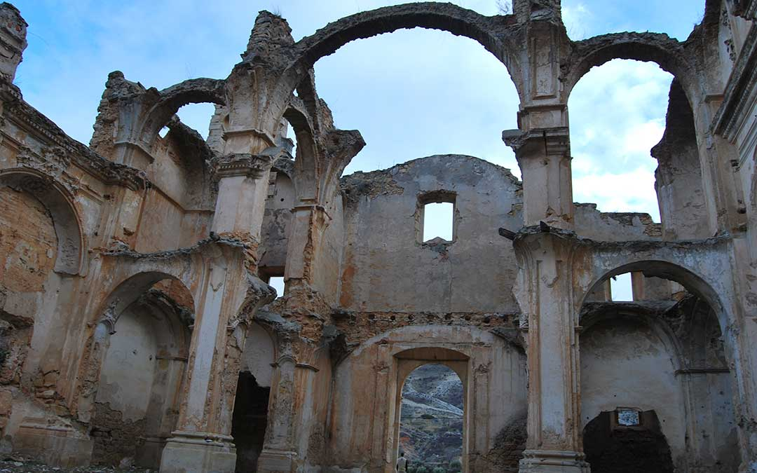 convento monjes servitas cuevas del canart