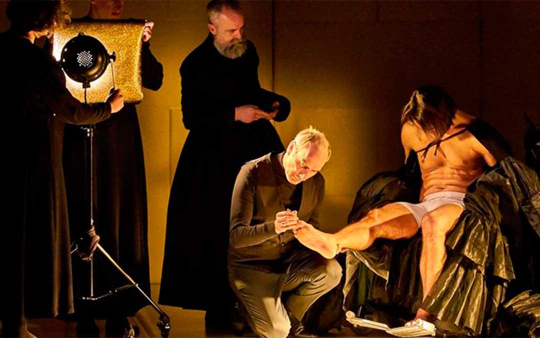 Imagen promocional de 'Esto no es la Casa de Bernarda Alba' con Eusebio Poncela de protagonista.