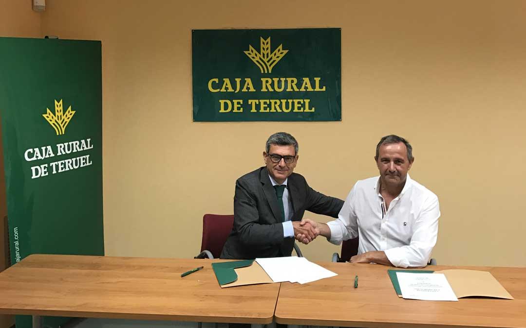 Acriporte y Caja Rural de Teruel sellaron un acuerdo de colaboración