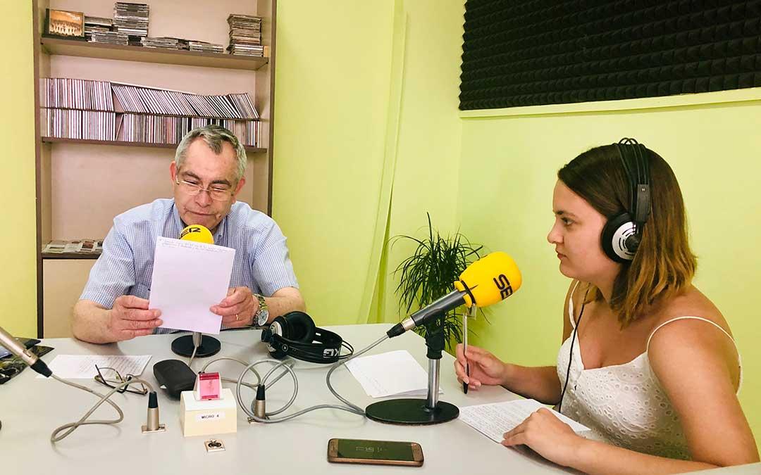 Manuel Garcés y Pilar Sariñena.